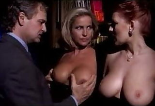 Milf Couple Sharing Bosomy Redhead Lady