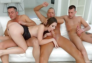 Alessandra Amore needs more than one dick alongside win pleased